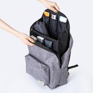 Travel Cosmetic Makeup Bag In Bag Beauty Functional Portable Toiletry Key Phone Wallet Electronic Equipment Pouch Case Organizer