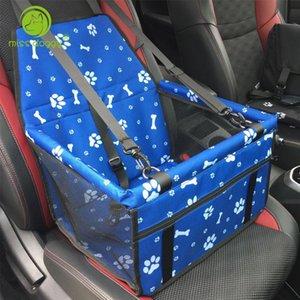 Footprint Print Pet Dog Carrier Pet Car Seat Cover Hammock for Dog Accessories Anti Slip Waterproof Folding Safety Basket 15