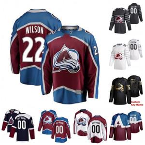 Prego costume Yakupov Colin Wilson Erik Johnson Gabriel Landeskog Anton Lindholm Duncan Siemens 2020 Hockey Jerseys costurado