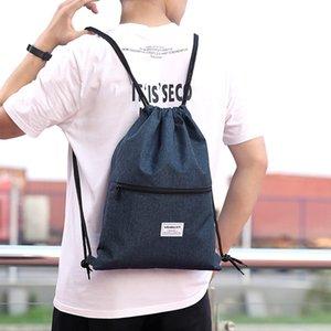 Fashion Unisex Waterproof Drawstring Bag Sports Waterproof Bundle Rope Travel Sport Backpack School Bags Sac Banane Femme Drop