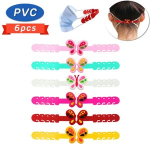 6PCS Face Shield Strap Extended Buckle Protector For Filtration Mouth Mask Hook Anti Pain Anti-slip Adjustment Holder Button P81