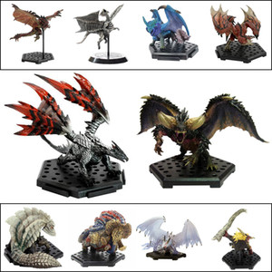 Monster Hunter World PS4 GAME Limited PVC Models Dragon Action Figure Japanese Genuine Kids Toy Gifts X0121