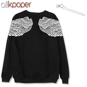 ALLKPOPER KPOP V Hoodie Bangtan Boys Hoodies Sweatershirt Gift (V Stud Earrings(1pcs)) K-POP sudadera mujer 201007