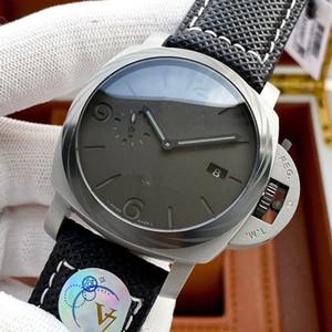 Watch Watch Watch Watches جلد PAM AISI316L الفولاذ المقاوم للصدأ للإنسان الأزرق اللون التلقائي للماء الألوان المعصم 2020 تصميم جديد 22