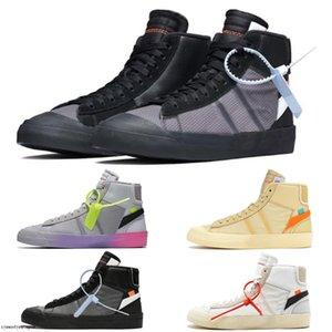 Nike Blazer The Ten OW 2020 عالية الجودة البرتقال الأسود الحلل MID Reepers قاتمة الاحذية أحذية كرة السلة الشريط Cavans THE TEN PRESTRO