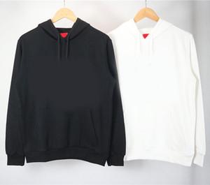 100% coton Hommes Hoodies Hoodies Femmes Casual New Sweats Pulls d'homme Sweat-shirt à capuche Homme Couleur unie Sweat avec poches