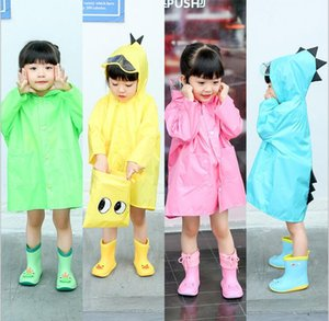 New 3D children's raincoat boys and girls children's poncho gjjtyu