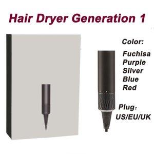 Precio más barato de vacío No Ventilador Secador de pelo salón profesional Herramientas secador del soplo de calor Súper velocidad del ventilador en seco secador de pelo