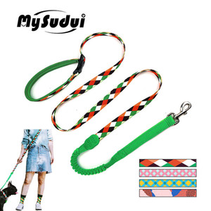 Dog Leash Running Hands Free Elastic Reflective Training Pet Bungee Dog Lead Leash For Dogs Extendable Strong Leads Pet Leashes 1020