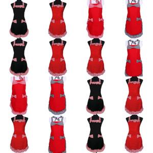 Женщины черный белый плед фартук женской леди красный утолщение ткани без рукавов корейский версия принцесса Pinafore грязь устойчивый 11 5xb j3