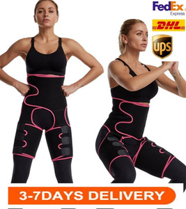 США на складе, женские талии тренер 3-в-1 Триммеры бедра с Bulifter Body Shaper Arm Rew Reep Apply Support Sport Reputate Bands