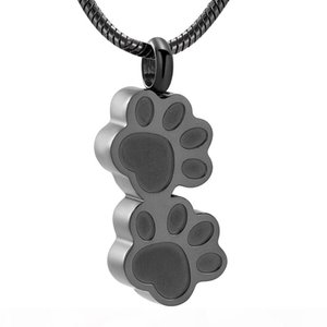 LKJ9955 Free Funnel & Gift Box, Cool Men Necklace Hold Loved Pet Dog Cat Ashes Memorial Urn Locket Funeral Casket