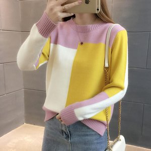 Knitted Sweater Pull Women Fashion Ladies Winter New Korean Women Sweaters Lady Long Sleeve Casual Autumn Jumper Knit Tops