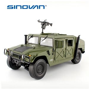 Alloy Diecast For Hummer Tactical toy Vehicle 118 Military Armored Car Diecast Model with 5 Door Hobby Toys For Kids Birthday