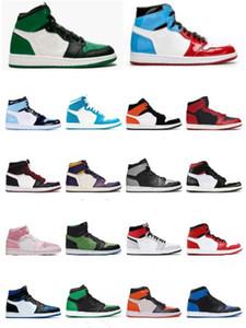 mes Femmes J1S Chaussures de basket-ball fumée grise pâle Tie Dye Cactus Jack Chicago HOMME Baskets Sneakers TAILLE 36-46