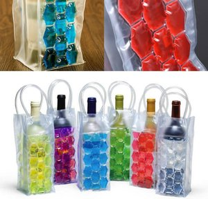 Ice Wine Cooler Bags Pvc Beverages Beer Cooler Bag Portable Double Side Ice Wine Holder Carrier Travel F BbyqtN Bdesports Tfaqs