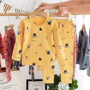 Qrde Kids comfortable Baby Boy Girl Christmas Clothes Pajamas Sleepwear Nightwear Xmas Toddler Set PJSBY