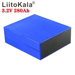 1pcs Liitokala 3.2v 280ah lifepo4létio battery 3.2v ferro delítiofosfato battery para diy bloco de battery inverter