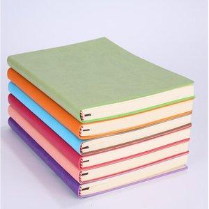 Blocco note A5 di alta qualità Classico Solid Journal Notebooks Programma giornaliero Memo Sketchbook Home School School Blocco note per ufficio Forniture Regali YHM619