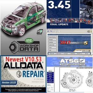 2020 Горячая продажа Alldata Soft-Ware диагностики мягкого изделия ми ... флигель od5 Vivid Workshop авто-данные 1TB HDD автомобильный ремонт мягкой посуды