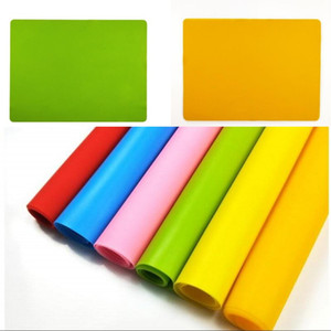 Silicone Square Pad Baking Table Mat Multi Color Heat Insulation Placemat Home Kitchen Decoration Practical 3 8qf G2