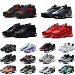 max tn plus 3 III uomo scarpe da corsa Obsidian tn3 triple bianco nero hyper og usa neon rosso cremisi Michigan mens formatori sportivi sneakers