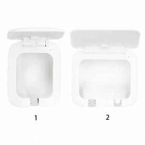 Lumière UV Brosse à dents stérilisateur USB Holder punch sans charge anti-bactérien Ultraviolet Brosse à dents de désinfection Boîte gMCv #