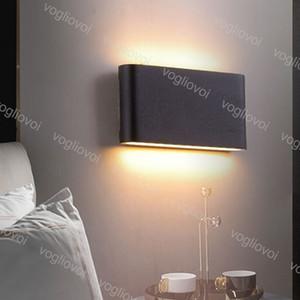 Outdoor Wall Lampes moderne 6W 12W Up And Down IP65 extérieur étanche à LED pour Salon intérieur Éclairage Décoration parc paysager DHL