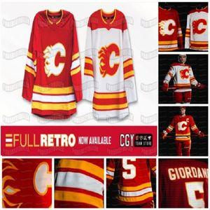 Mateo Tkachuk Calgary Flames 2021 Johnny Gaudreau Jacob Markstrom Monahan Sam Bennett Elias Lindholm Backlund McDonald Jersey