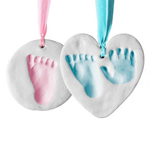 Baby Footprint Kit & Handprint Ornament for Baby Girl Gifts & Boy Gifts,DIY Unique Shower Gifts