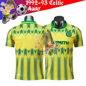 1991 -1992 CELTIC retro soccer jerseys camiseta futbol retro CELTIC 1991 92 Soccer Jerseys france CELTIC retro football shirt soccer jersey