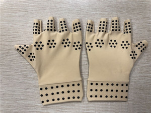 Magnetic Therapy Gloves Arthritis Gloves Fingerless Gloves Pain Relief Heal Joints Braces Supports Health Care Tool ottie
