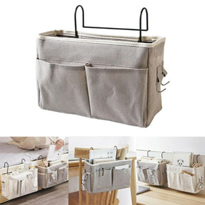 SH828 Storage Bag Convenient Function Bed Holder Organizer Container Bedside Caddy Hanging Storage Bag Pocket Holder Container