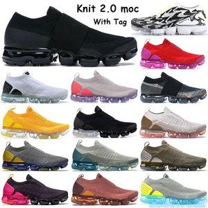جديد يطير 2.0 moc الرجال النساء الاحذية مع tag المدربين الثلاثي الأسود متعدد الألوان اختصار ضوء العظام محايد الزيتون حبانيرو أحذية رياضية