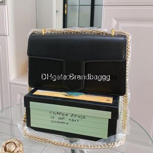 2020 Luxury Classic Fashion Retro Bags G Letter Chain Designer Shoulder Bag Genuine Leather Lady Messenger Crossbody Handbag With Box