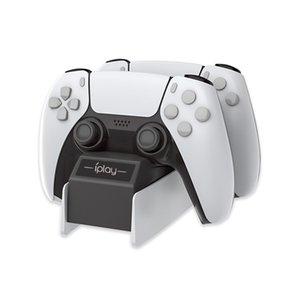 PS5 빠른 도크 흑백 USB 충전기를 충전 5V2H1000-2600mA PS5 게임 무선 컨트롤러 듀얼 고속 충전기 PS5 도킹 충전기