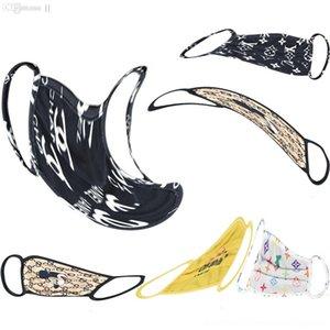 # 612 Anti-polvo de algodón BbyOf lujo Designermask moda con máscara diseñador de la máscara de la boca Negro unisex de algodón de la cara Ciclismo Ohowi