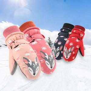 Winter hot Snowboarding GLOVES men women children Snow Gloves bicycles riding hot raincoats wind Cup sports gloves children
