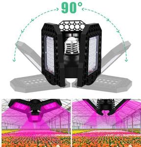 Heißer Verkauf LED-Anlage Wachsen-Lichter Drei Blatt Faltende Verformung Pflanze Wachstum Licht Blume Pflanzen Kindergarten Ergänzungslicht