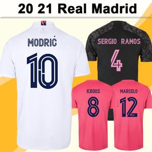 20 21 Real Madrid PELIGRO BENZEMA SERGIO RAMOS Camisetas de fútbol para hombre MODRIC MARIANO KROOS ISCO ASENSIO MARCELO Local Visitante 3a camiseta de fútbol
