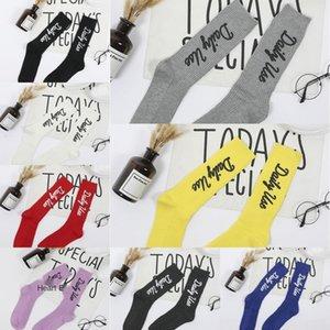 uomini alla moda UJKaD di seta e il golf di moda stampate delle classiche calze di cotone sockscolor socksCotton calzini otto femminile filo serie s