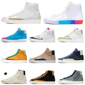 nike blazer mid 77 shoes top fashion casual shoes menwomen أحذية رياضية رياضية