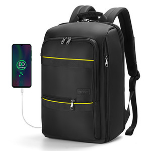 Tigernu Backpack Men Casual impermeável Laptop sacos bolsa escola para o adolescente masculino Viagem Bagagem Bag de alta qualidade Esporte Mochilas
