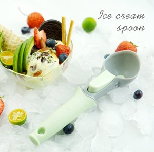 Nordic style Ice cream Scoop Plastic Multi-purpose Ice cream Spoon One piece design watermelon scoop For cooking baking and outdoor