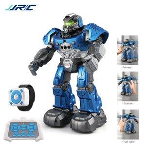 JJRC R5 Robot Intelligent Programable Auto Music Dance RC Robot для детей Smart Watch Следуйте датчику жеста RC Toys Robo Y200413