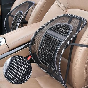 1pcs Back Lumbar Waist Massage Cushion Support Pad For Car Seat Office Chair Massager Relaxation Treatments Health Care