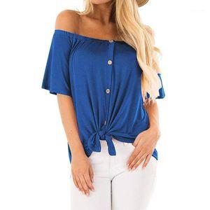 feitong Summer T Shirt Women 2018 Solid Top Short Sleeve Ladies T Shirt Casual Loose Cotton Basic Plus Size Feminina #31