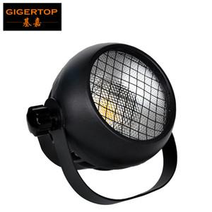GIGERTOP 50 W Mini LED COB Par Işık Cam Lens 60 Derece Işın Açı Fan Soğutma Döküm Alüminyum Konut Tyanshine COB Beyaz Renk
