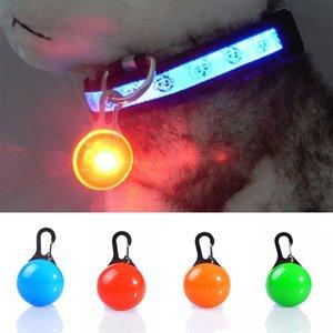 Haustier Hund Katze Anhänger Collar Flashing helle Sicherheits LED-Anhänger Sicherheit Halskette Nachtlicht-Kragen Pendan w-00320
