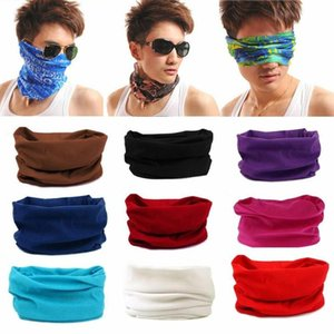 5Pcs Outdoor Sports Dust Proof Anti UV Face Cover Scarf Neck Gaiter Headband Stop The Flying Spit Respirator for Summer